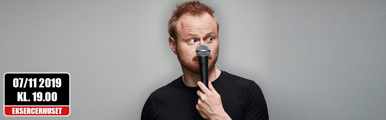 Jonatan Spang er tilbage med et nyt stand-up show